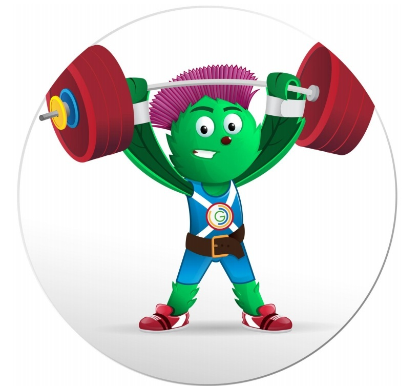 Games Mascot 'Clyde'  Glasgow 2014 XX commonwealth games