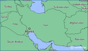 11652-ahvaz-locator-map
